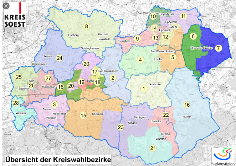 Kreiswahlbezirke
